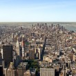 Stock Photo: Panoramic view Midtown and downtown of manhattan