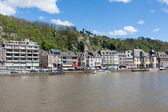 City of Dinant along the river Meuse, Belgium — Stock Photo