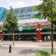 Stock Photo: Central station of Lelystad, Netherlands