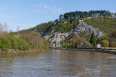 River Meuse in Belgium Ardennes — Stock Photo