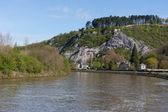 River Meuse in Belgium Ardennes — Stock Photo