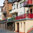 Cityscape of Zell, historic city at the river Moselle in Germany — Stock Photo