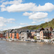 Royalty-Free Stock Photo: Dinant in the Belgium Ardennes on River Meuse