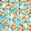 Turquoise Green and Blue pattern - Imagen vectorial
