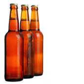 Cold beer background — Stock Photo