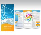 Vector Brochure — Stock Vector