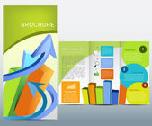 Business brochure — Stock Vector