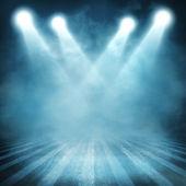 Sfondo nello show. interni brillato con un proiettore — Foto Stock
