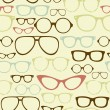 Retro spectacles — Vector de stock #11391078