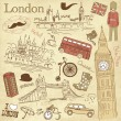London — Vector de stock  #11391302