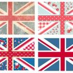 British Flags — Stock Vector