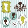 Royalty-Free Stock Vectorafbeeldingen: Vintage frames