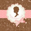 Royalty-Free Stock Vectorafbeeldingen: Mother&#039;s day card