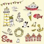 Sea doodles — Stock Vector #11395183