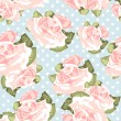 Rose pattern — Stockvectorbeeld