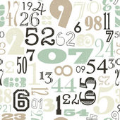 Numbers background — Stock Vector