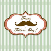 Happy Fathers day — Stock Vector