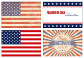 American Set — Stock Vector