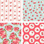 Shabby Chic set — Stockvector