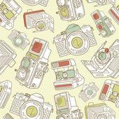 Ancien modèle de caméra — Vecteur