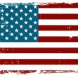 Vintage American flag — Stock Vector #11512211