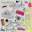 London doodles — Stock Vector #11512677