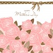 Mother Day card — Vector de stock #11512708