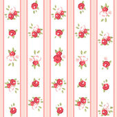 Vintage rose Muster. — Stockvektor