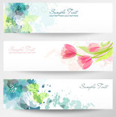 Set of three banners. — Stockvektor