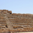 Ruins of an ancient city Caesaria. Israel. — Stock Photo #10947055