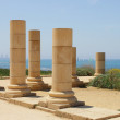 Ruins of an ancient city Caesaria. Israel. — Stock Photo #10947712