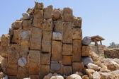 Roman ruins in Caesaria, Israel — Stock Photo