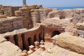 Roman ruins in Caesaria, Israel — Stock Photo
