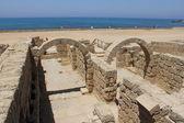 Roman ruins of ancient city — Stock Photo