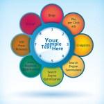 Flower diagram — Stock Vector #11427683