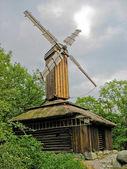 Swedish windmill — Stock Photo