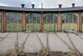 Old Train Storage Building — Stock Photo