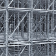 Stock Photo: Supporting Scaffold Construction