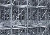 Supporting Scaffold Construction — Stock Photo