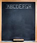 Classroom blackboard — Stock Photo