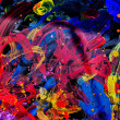 Peace abstract painting — 图库照片