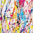 Stock Photo: Paint splatter