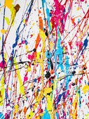 Paint splatter — Stock Photo