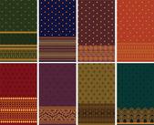 Sari Border Design — Stock Vector