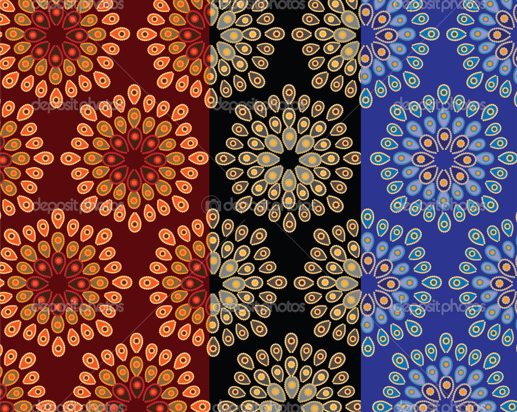 Indian Textile Designs - Viewing Gallery Hindu Art Patterns