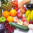 Fruits and vegetables. - Foto de Stock