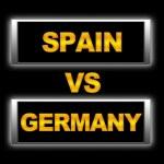 Spain vs Germany. — Stock Photo #11390595