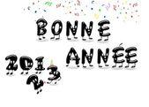 Bonne année 2013. — Zdjęcie stockowe