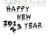Happy new year 2013. — Stock Photo