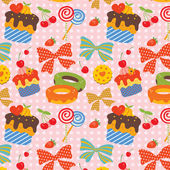 Sweet Pattern — Stock Vector